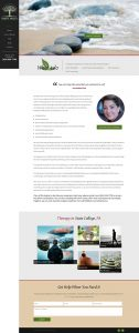 Web Design Portfolio Before and After | Growing Therapists