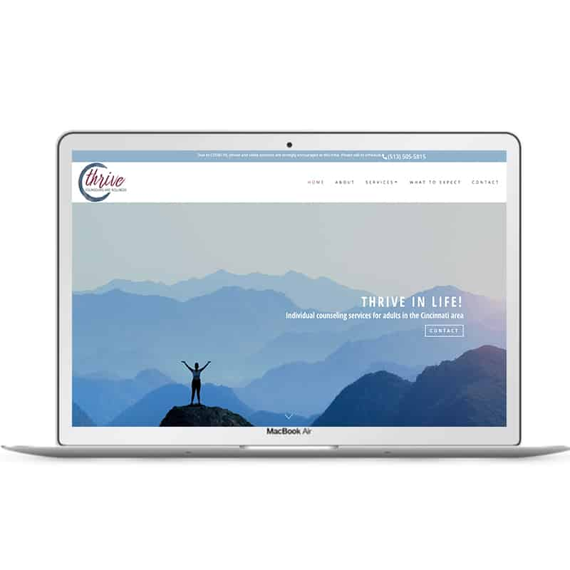 Web Design Portfolio | Cris Roskelley | Growing Therapists